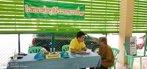 งานออกหน่วยแพทย์จิตอาสา ณ โรงเรียนบ้านช่องสะเดา วันที่ 9 มกราคม 2562